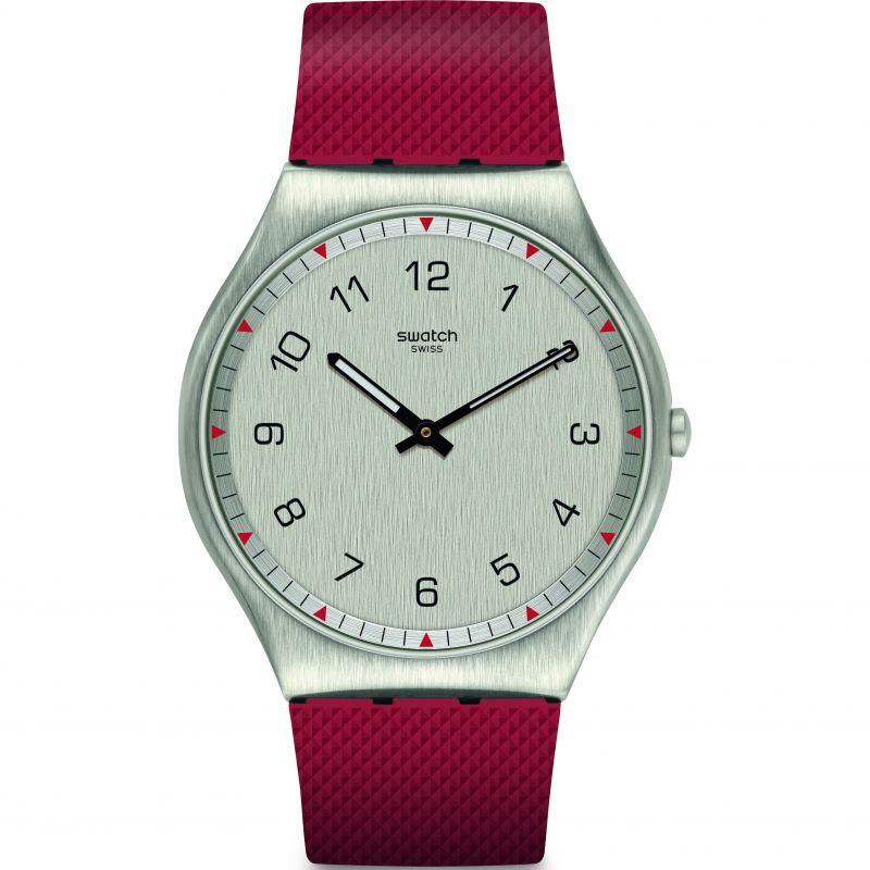Mens Swatch Skinrouge Watch
