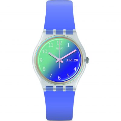 Swatch Original Gent Ultralavande Damenuhr in Lila GE718