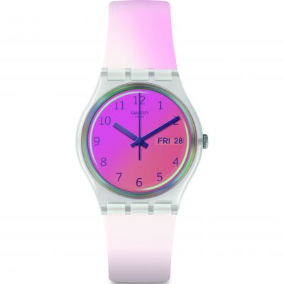 Swatch Ultrafushia Dameshorloge Roze GE719