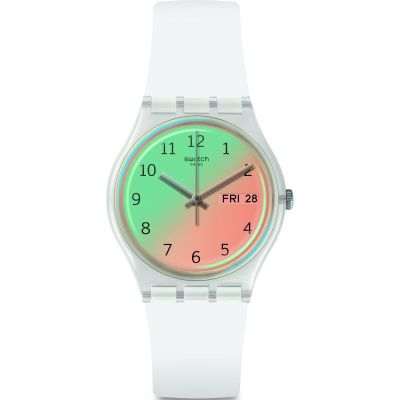 Swatch Ultrasoleil Damklocka Gul GE720