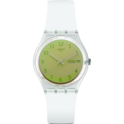 Swatch Ultrasoleil Dameshorloge Geel GE720