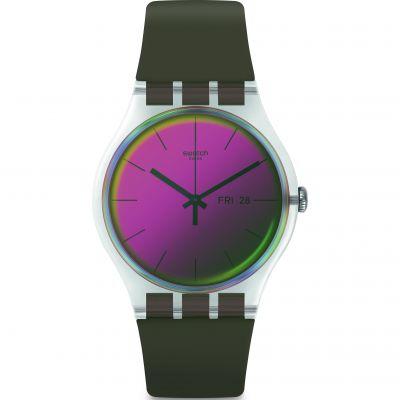 Unisex Swatch Polarmy Watch SUOK714