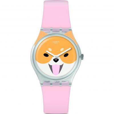 Unisex Swatch Akita Inu Watch GE279