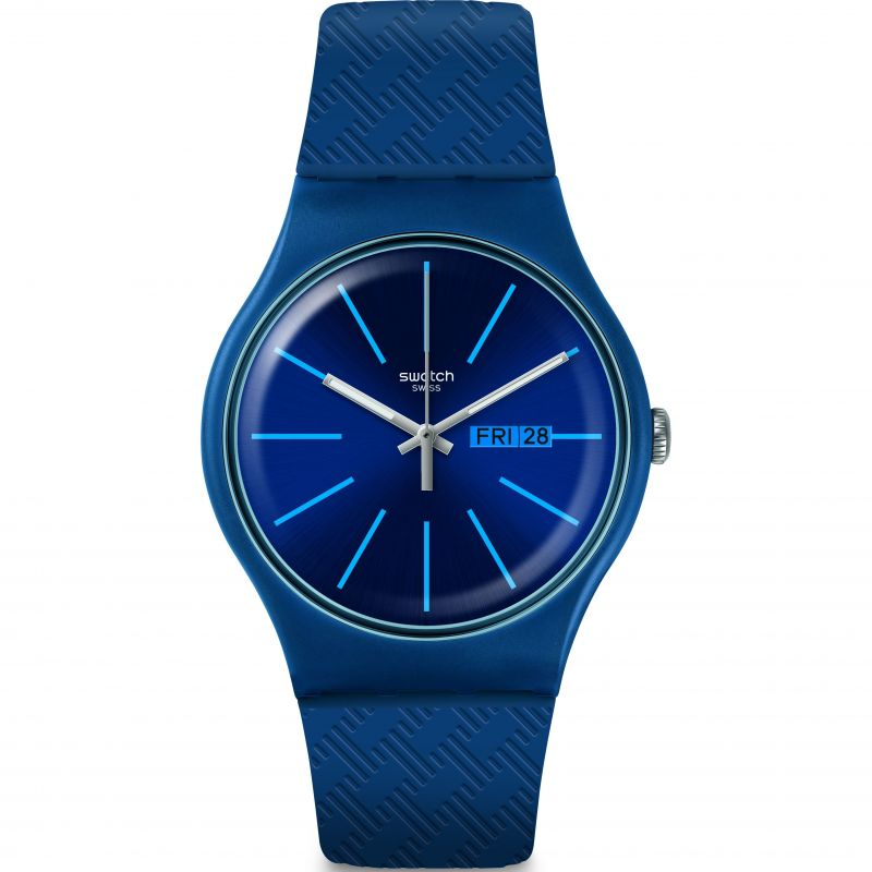 Mens Swatch Wave Path Watch SUON713