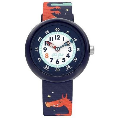Flik Flak Mystical Woods Draggy Kinderuhr in Mehrfarbig ZFBNP144