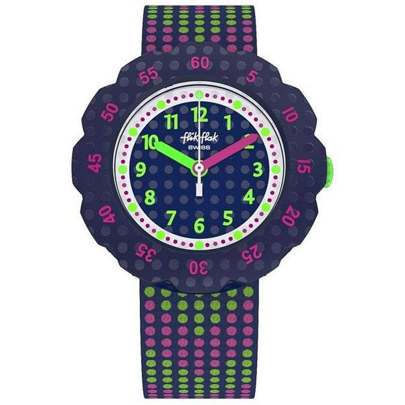 Childrens Flik Flak Dots 2.0 Watch ZFPSP037