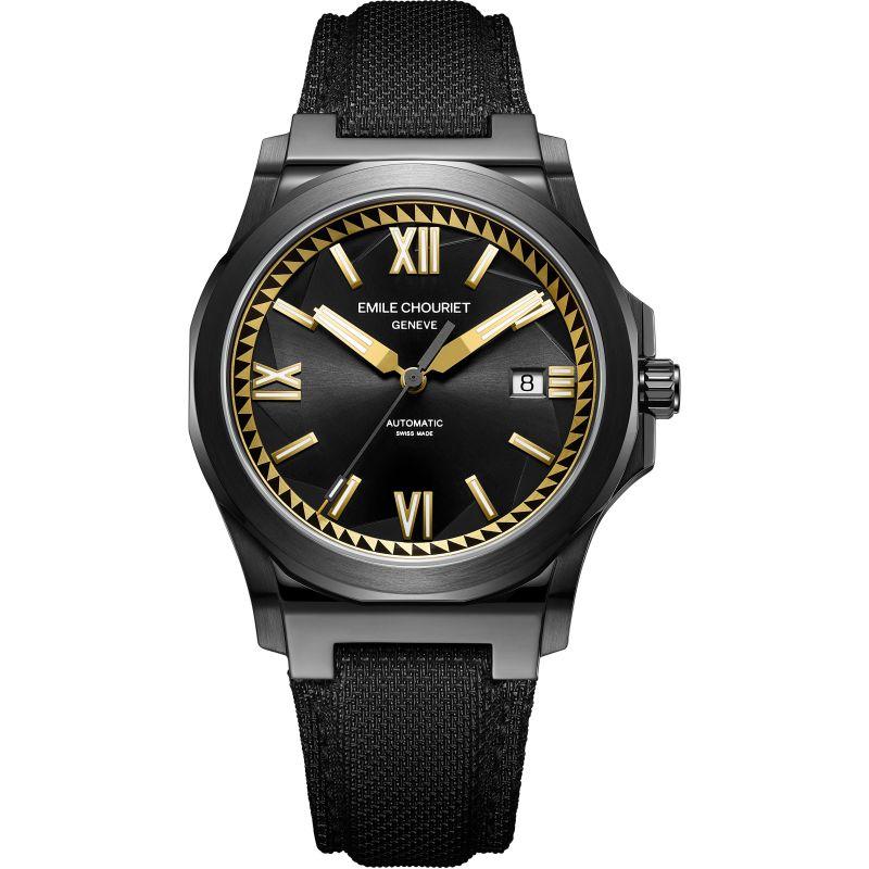 Mens Emile Chouriet Challenger Cliff Automatic Watch