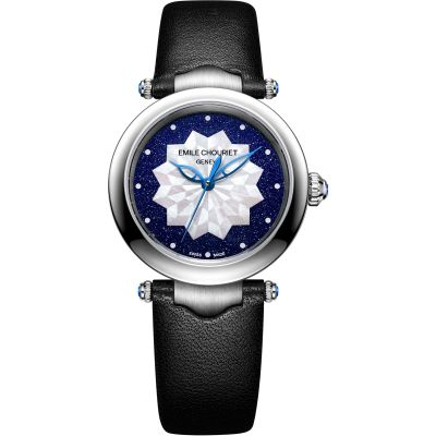 Ladies Emile Chouriet Fair Lady Lotus Blue Automatic Watch 06.2188.L.6.6.08.2