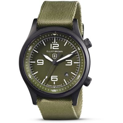 Elliot Brown Herrklocka Khaki 202-024-N08