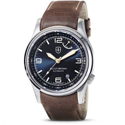 Elliot Brown Herrklocka Brun 305-D06-L22
