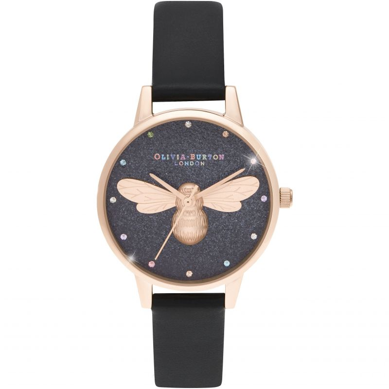 Ladies Olivia Burton Rainbow Lucky Bee Watch OB16FB13