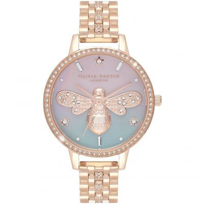 Ladies Olivia Burton Sparkle Bee Watch OB16GB04