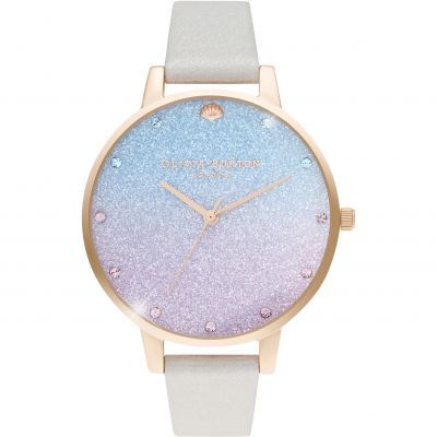 Ladies Olivia Burton Glitter Dial Watch OB16US47