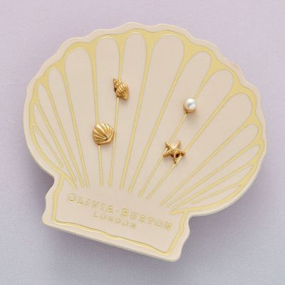 Biżuteria Olivia Burton Jewellery Under the Sea Gold Stud Pack OBJSCE22