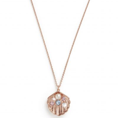 Olivia Burton Under the Sea Rose Gold Shell Roséguldspläterad OBJSCN11