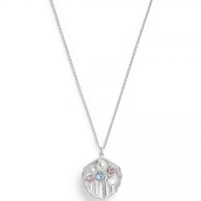 Olivia Burton Under the Sea Silver Shell Rodiumpläterad OBJSCN10