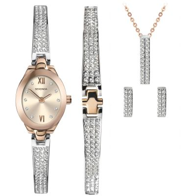 Ladies Sekonda Christmas Gift Set Watch 2924G
