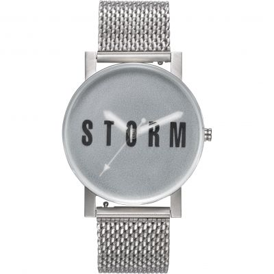 Mens STORM Storm New Blast Mesh Green Watch 47456/G