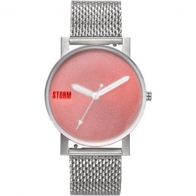 STORM AW19 Storm New Blast V2 Mesh Red Herrenuhr in Silber 47457/R