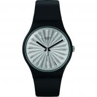 Swatch Silver Shield Knightliness Watch