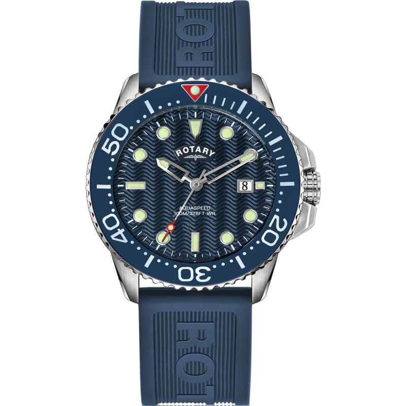 Rotary Aquaspeed Watch AGR19001/W/05