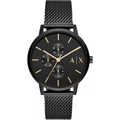 Armani Exchange Cayde Herrenuhr in Schwarz AX2716