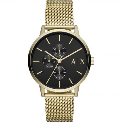Armani Exchange Cayde Herrenuhr in Gold AX2715