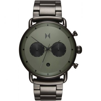 MVMT Blacktop Herrenchronograph in Grau D-BT01-OLGU