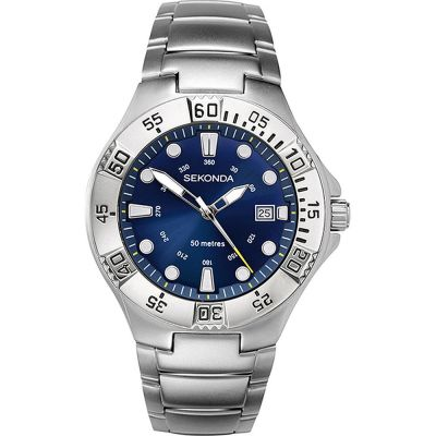 Sekonda Sekonda Gents Sports Style Watch Herrklocka Silver 3098