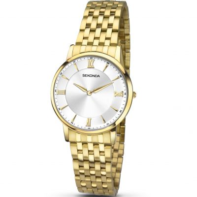 Sekonda Sekonda Ladies Watch Damklocka Guld 2337