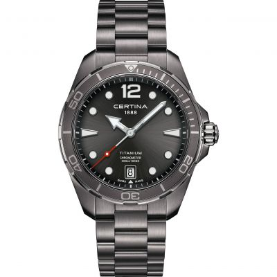 Certina DS Action Titanium Watch C0324511108700