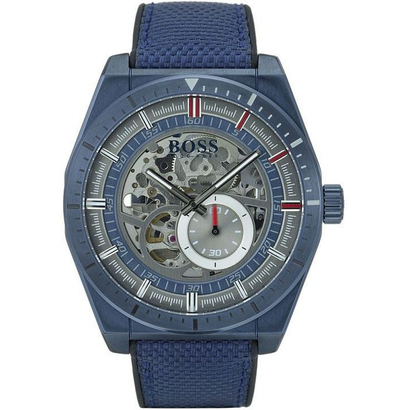 Hugo Boss Signature Timepiece Collection Skeleton Watch 1513645