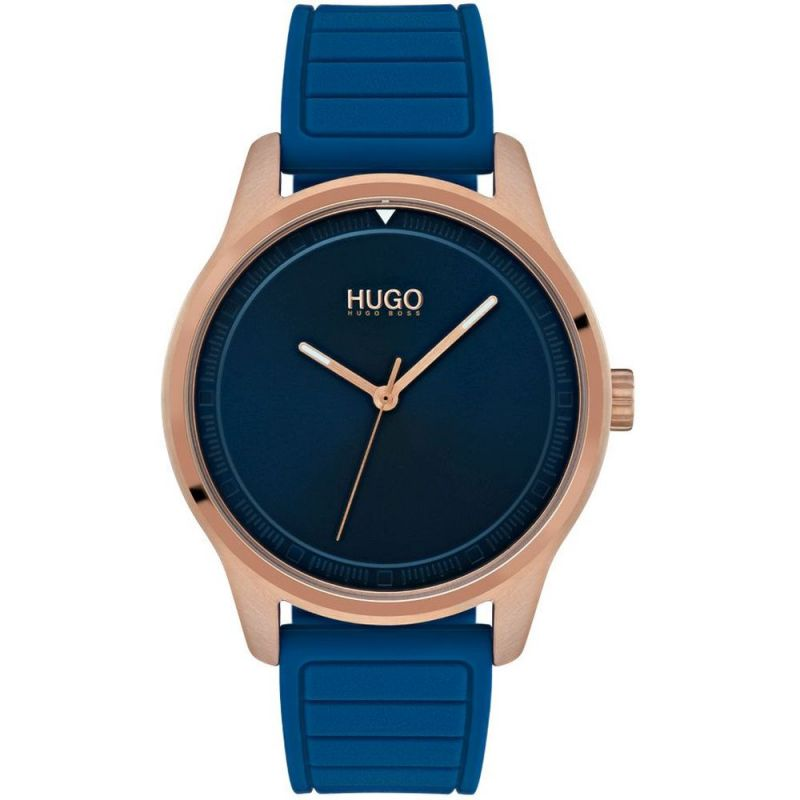 Mens HUGO Blue Move Watch 1530042