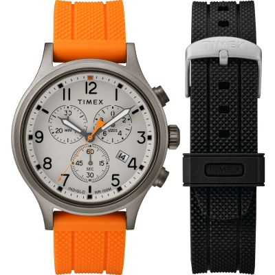 Timex Allied with extra strap Herrenchronograph in Zweifarbig TWG018000