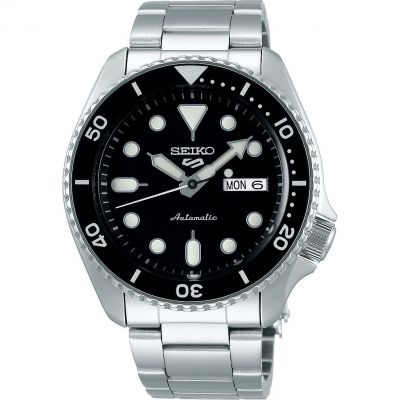 Mens Seiko 5 Sports Automatic Watch SRPD55K1