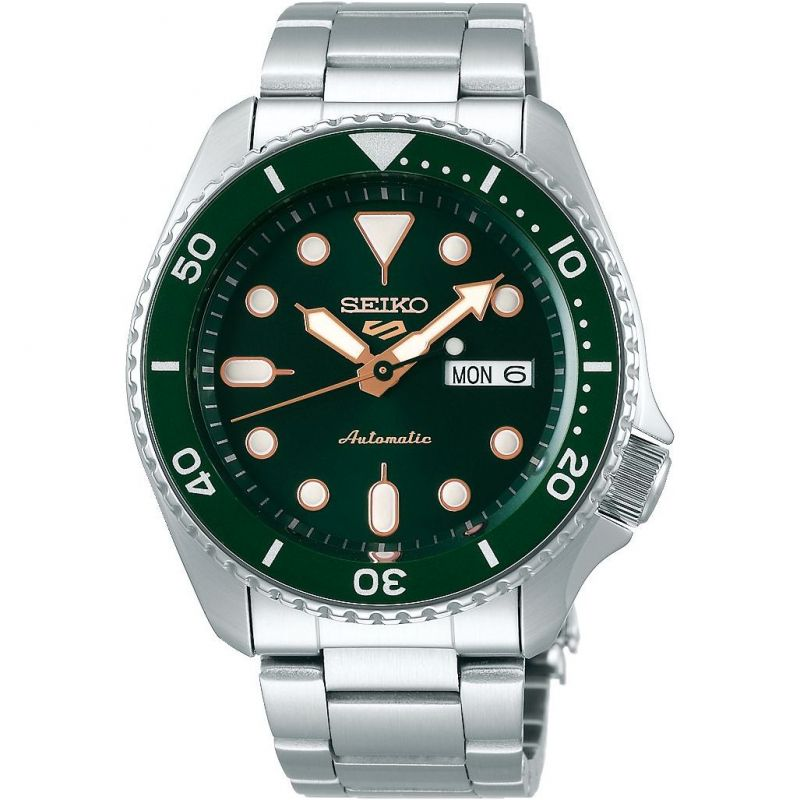 Mens Seiko 5 Sports Automatic Watch SRPD63K1
