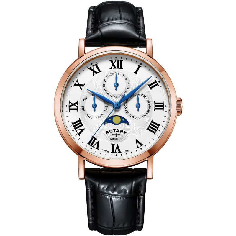Rotary Moonphase Calendar Watch GS05329/01