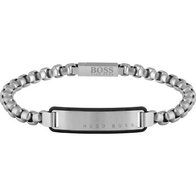 Gents BOSS Jewellery Id Bracelet 1580049M