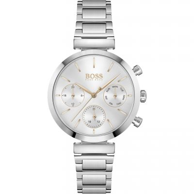 Hugo Boss Flawless Dameshorloge Zilver 1502530