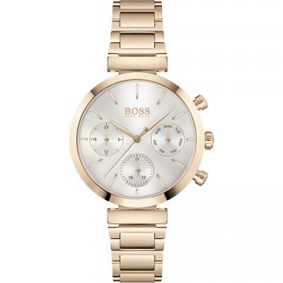 Hugo Boss Flawless Damklocka Rose Gold 1502531