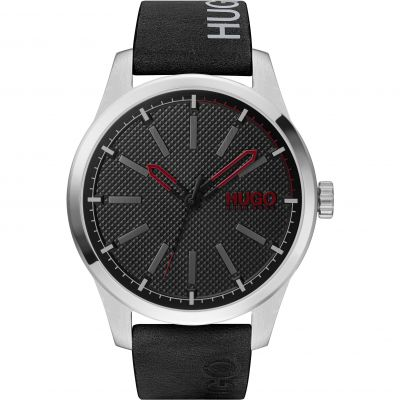 HUGO Invent Herenhorloge Zwart 1530146
