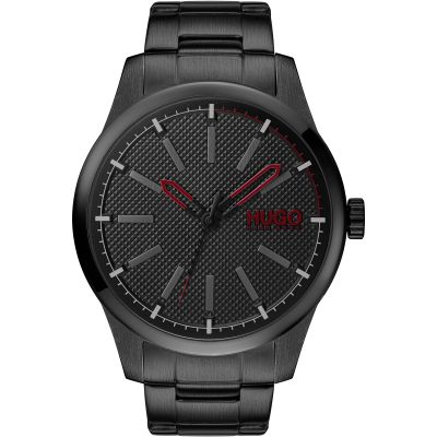 HUGO Invent Herenhorloge Zwart 1530148