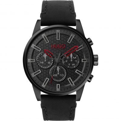 HUGO Seek Herenhorloge Zwart 1530149