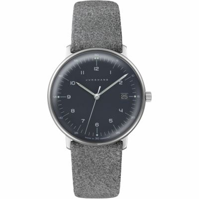 Junghans Max Bill Damenuhr in Grau 047/4542.04