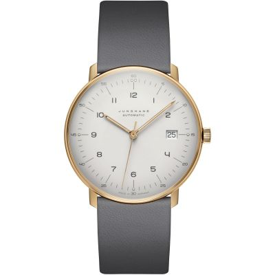 Junghans Max Bill Automatic Unisexuhr in Grau 027/7806.04