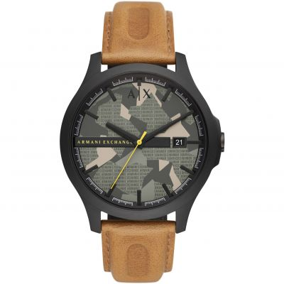Armani Exchange HAMPTON Herenhorloge Bruin AX2412