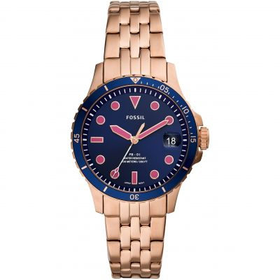 Fossil Fb - 01 Dameshorloge Rose Gold ES4767