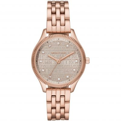 Michael Kors Lexington Damklocka Rose Gold MK6799