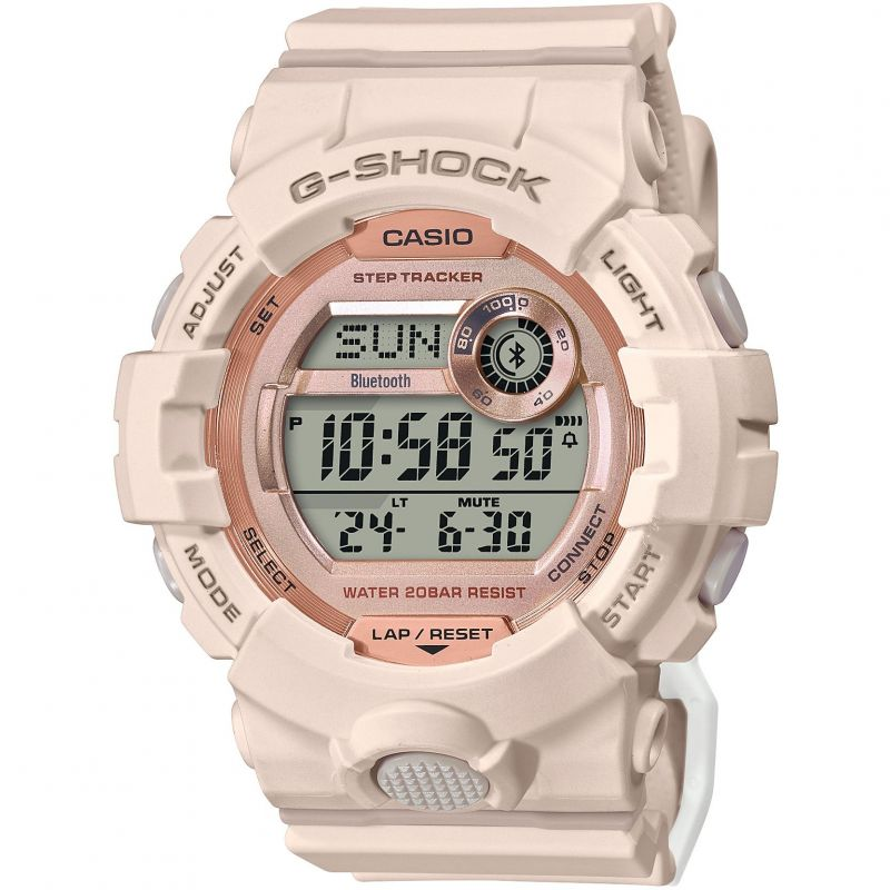 Casio G Shock Womens Sport Watch GMD-B800-4ER Pink
