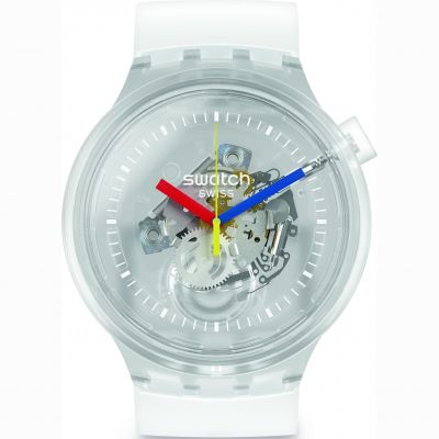 Swatch Big Bold Jellyfish Unisex horloge Transparant SO27E100